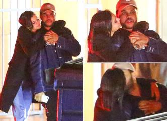 Селена Гомес целуется с музыкантом The Weeknd