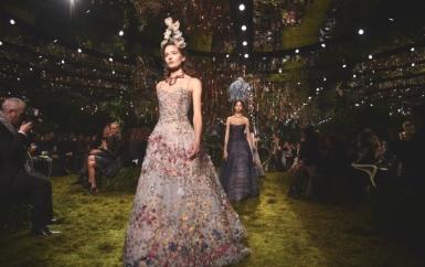 Показ коллекции Christian Dior весна лето-2017