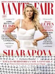 Мария Шарапова на страницах Испанского журнала
