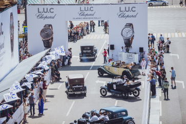 4 июня юбилейное 15-ое ралли классических автомобилей L.U.C Chopard Classic Weekend Rally