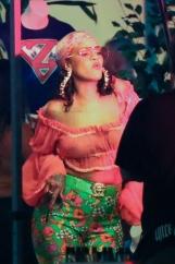 Рианна на съемках нового клипа с DJ Khaled (Фото)