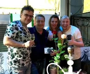 Рома Жуков открыл ресторан