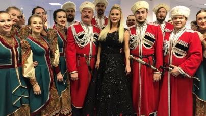 Анна Семенович исполнила Гимн Российской Федерации