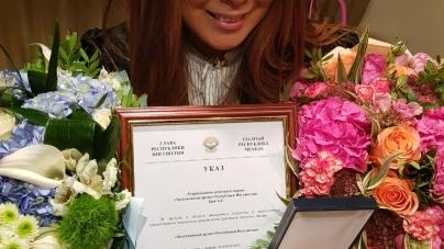 Аните Цой присвоено звание Заслуженного Артиста Ингушетии