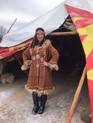 Рада Рай запела на чукотском языке
