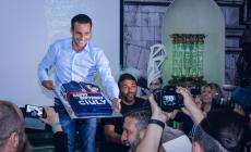 День рождения Людовика Жули в Balzi Rossi