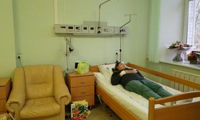 Анита Цой в больнице (видео)