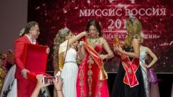 Анна Телегина стала Миссис Россия – 2018