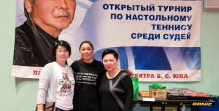 Семейный спорт Аниты Цой Настольный Теннис