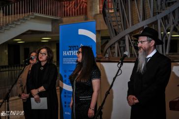 Открытие выставки Хаима Сокола посвященной памяти жертв Холокоста