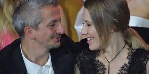 Ксения Собчак нежно прокомментировала фотографию с мужем