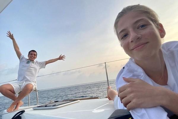 Александра Новикова и Feduk улетели на Мальдивы