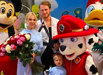 Пелагея и Иван Телегин вместе отметили день рождения дочери