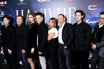 Егор Кончаловский представил фильм На Луне в кинотеатре Октябрь