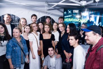 В «КАРО Музей Москвы» прошла премьера сериала «Новенький 2»